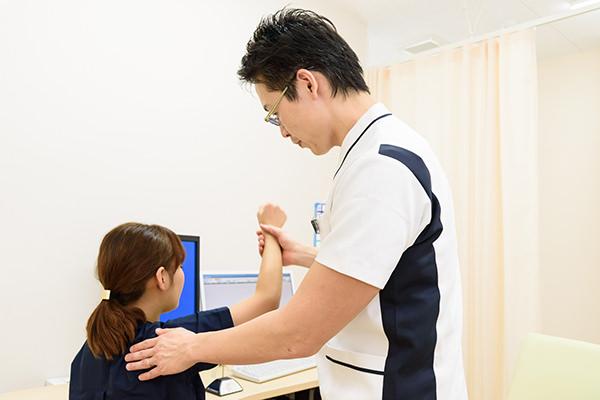 「痛みの改善」を第一に考えて診療します