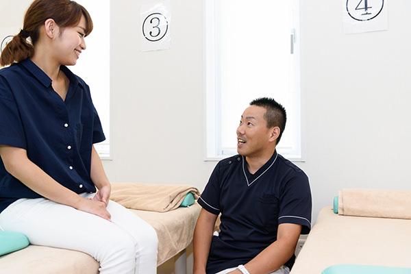 患者さんとの信頼関係を大切に考えます